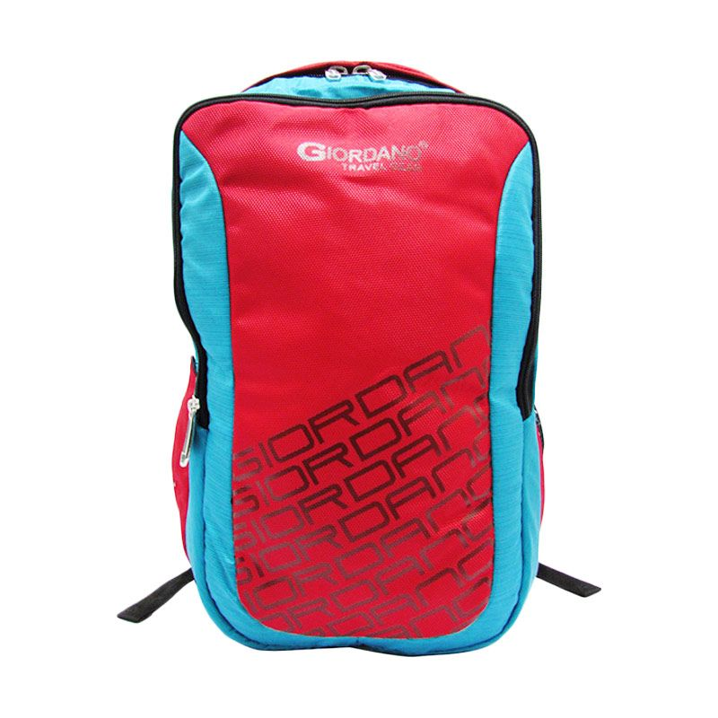 Giordano Fashion School Collection Bag G.7121 Turqoise Merah Tas Ransel Wanita