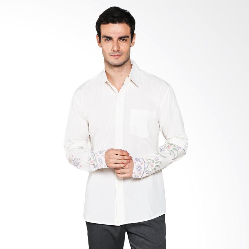 The Y Label Maverick Mountain Ikat Shirt Combination YMML 003 Atasan Pria