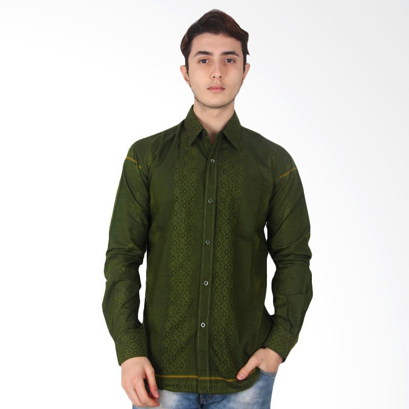 The Y Label Pleiadian Sea Dark Olive Green