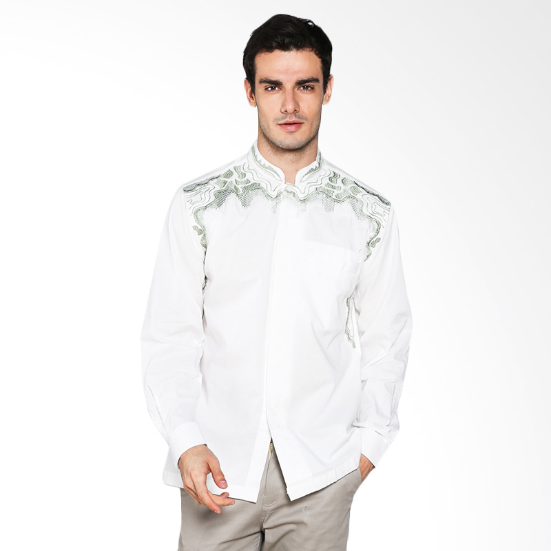 The Y Label White Collection Pedro Shirt YWL-002 Atasan Pria