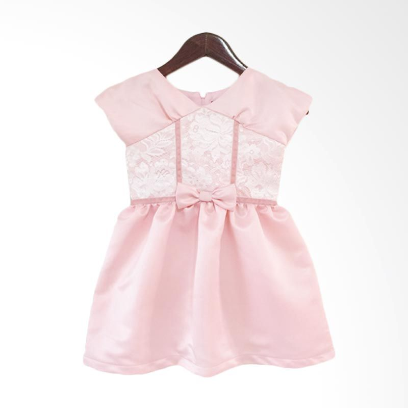 Theodora Mardjuki Anastasia Pink Dress Anak