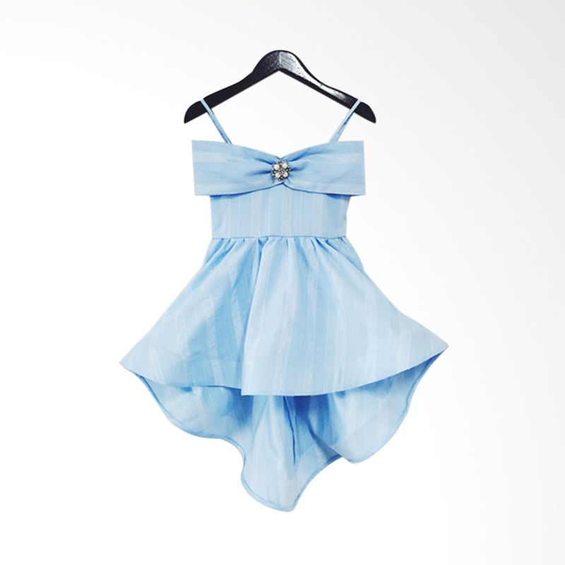 Theodora Mardjuki Cinderella Blue Dress Anak