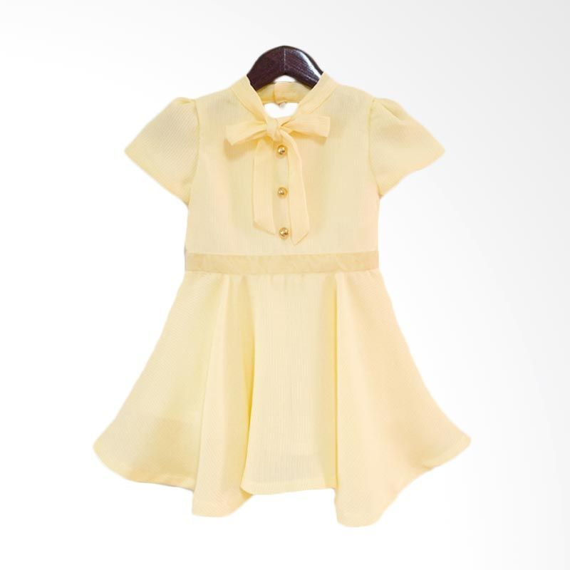 Theodora Mardjuki Karlie Natasha Yellow Dress Anak