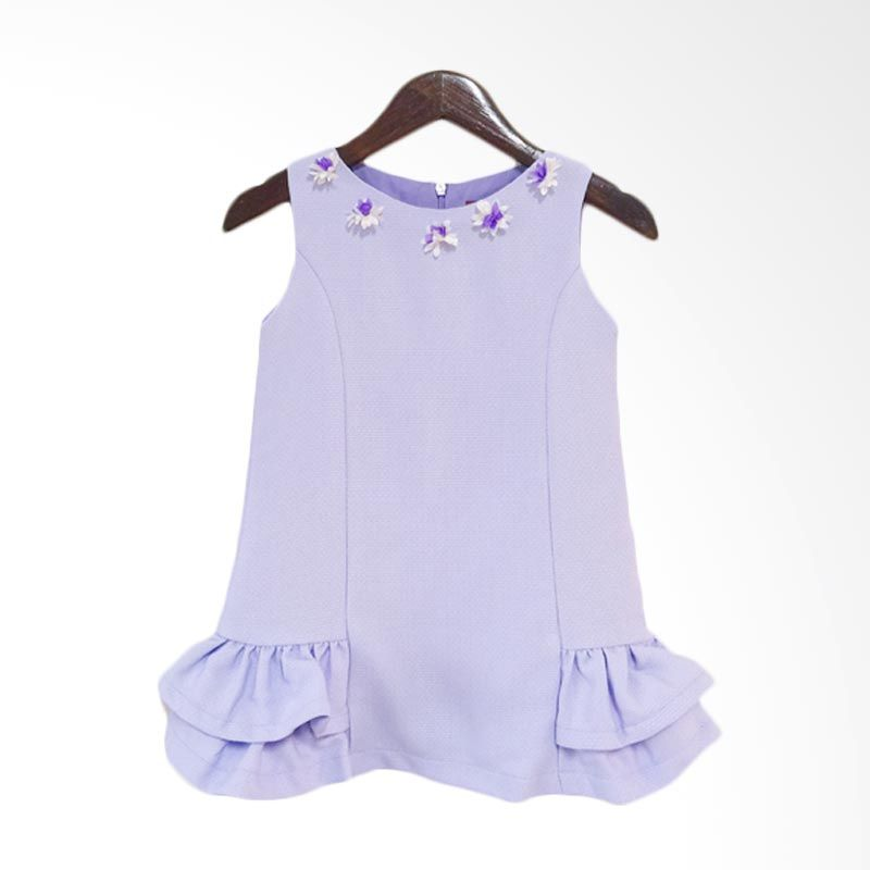 Theodora Mardjuki Mindy Purple Dress Anak