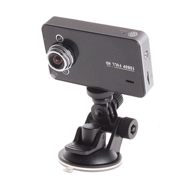harga Third Party Baco K6000 Vehicle Black Box Car DVR - Black [Camera Recorder Full HD 1080P/2.5 Inch TFT Screen with Wide Angle 140 Degree] Blibli.com