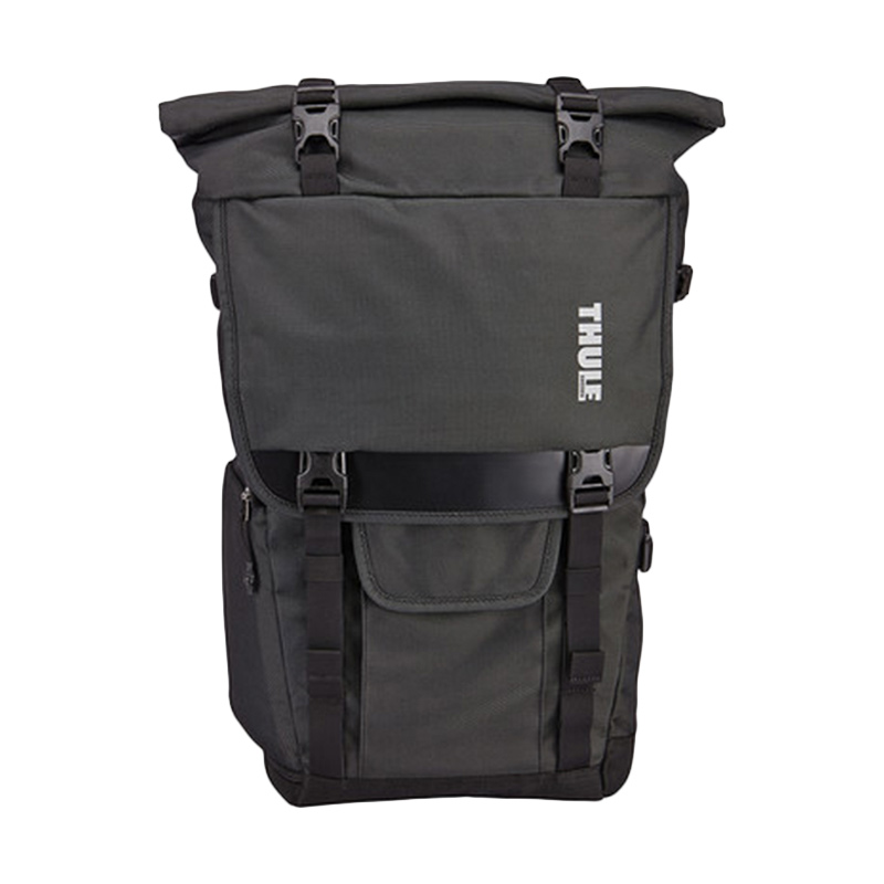 Thule TCDK 101 Covert DSLR Rolltop Backpack Tas Kamera - Dark Shadow
