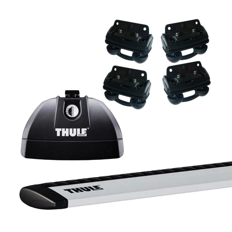 harga Thule Roof Rack Set 1 untuk Honda CRV (Flush Rail) Tahun 2012 - Sekarang Blibli.com