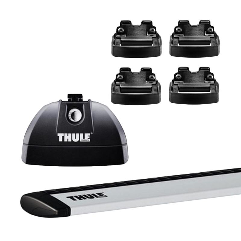 harga Thule Roof Rack Set 1 untuk Hyundai Santa Fe SUV (Flush Rail) 2013 - 2015 Blibli.com