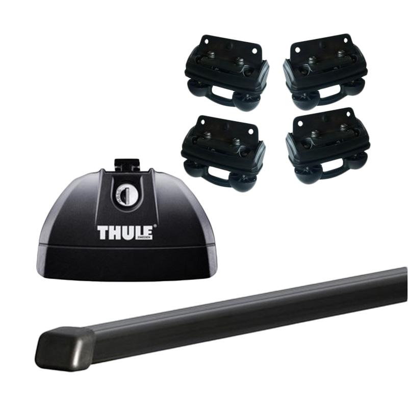 harga Thule Roof Rack Set 4 untuk Honda CRV (Flush Rail) Tahun 2012 - Sekarang Blibli.com