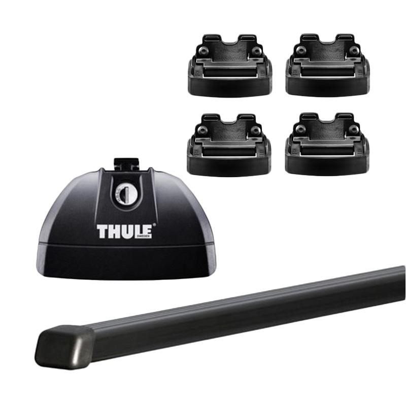 harga Thule Roof Rack Set 4 untuk Hyundai Santa Fe SUV (Flush Rail) 2013 - 2015 Blibli.com