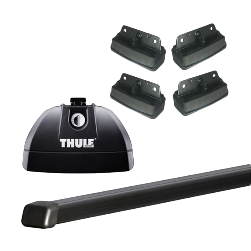 harga Thule Roof Rack Set 4 untuk Suzuki Grand Vitara 3 SUV (Flush Rail) 2005 - Sekarang Blibli.com