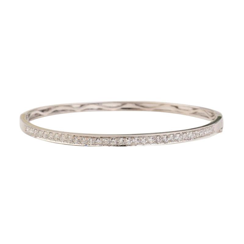 Tiaria Diamond Emas Gelang - Rose Gold [18K]