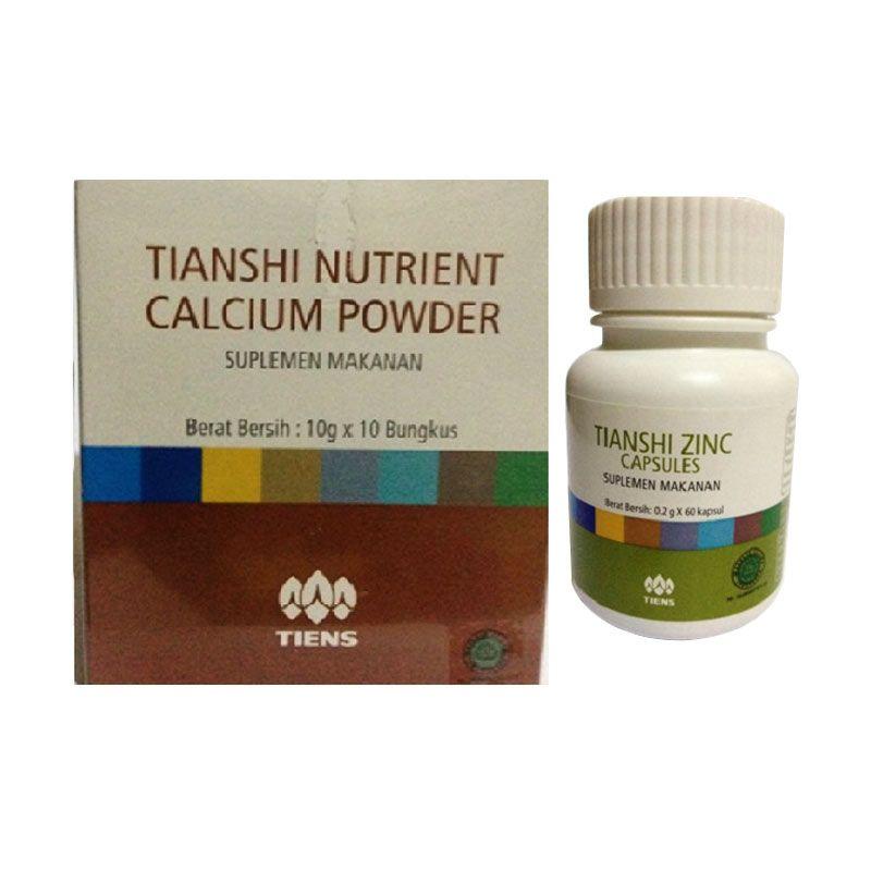 Tiens Paket Peninggi Badan NHCP Suplement [1 Box]