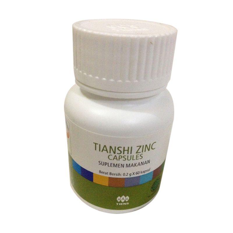 Jual Tiens Tianshi Zinc Kapsul Peninggi Badan Suplemen Makanan Online -  Harga   Kualitas Terjamin  d4c2ee730f