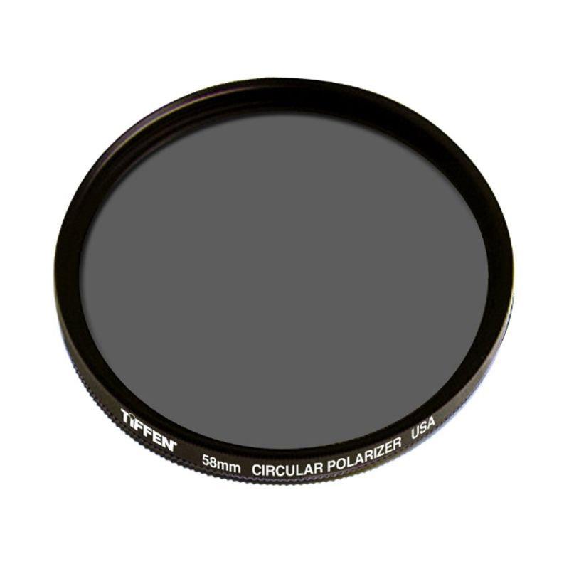 Tiffen Circular Polarizer 58mm Lens Filter [58 CPL]