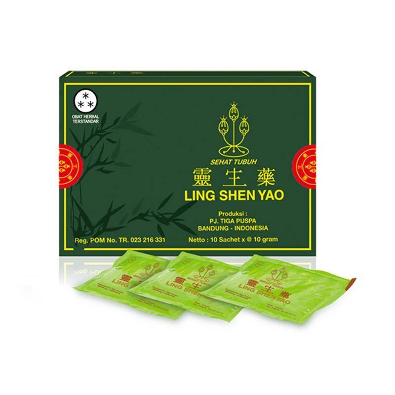 TIGA PUSPA - Ling Shen Yao Serbuk (Men)