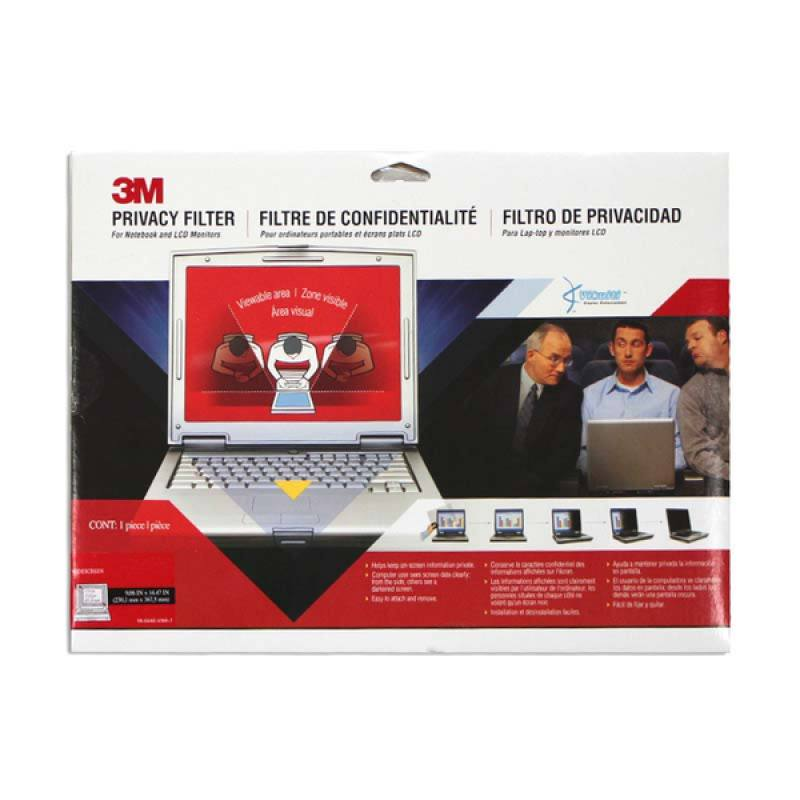 3M PF Widescreen Notebook Privacy Filter 12.1W