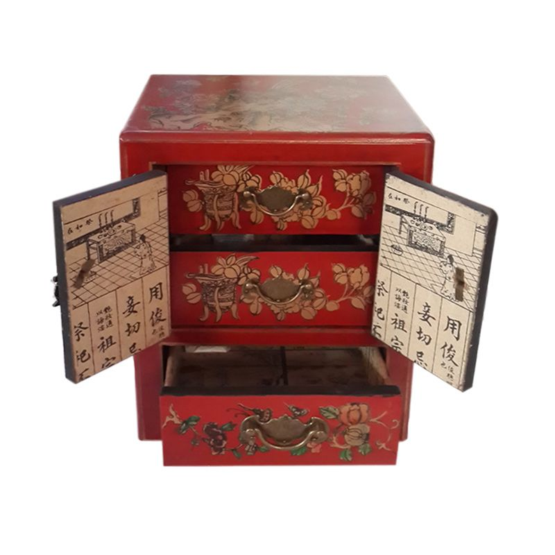 Dart TilaVie Tanpa Kaca Merah Kotak Perhiasan