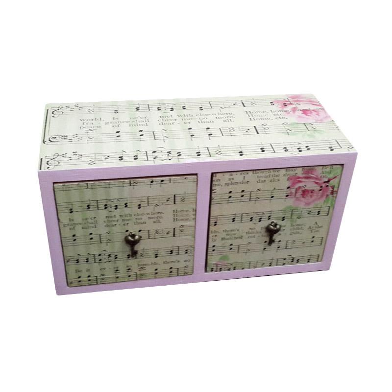 harga TilaVie Kotak Dua Laci Tema Musik Blibli.com
