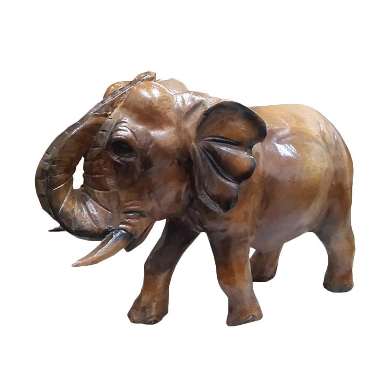 harga TilaVie Patung Gajah Afrika - Natural Blibli.com