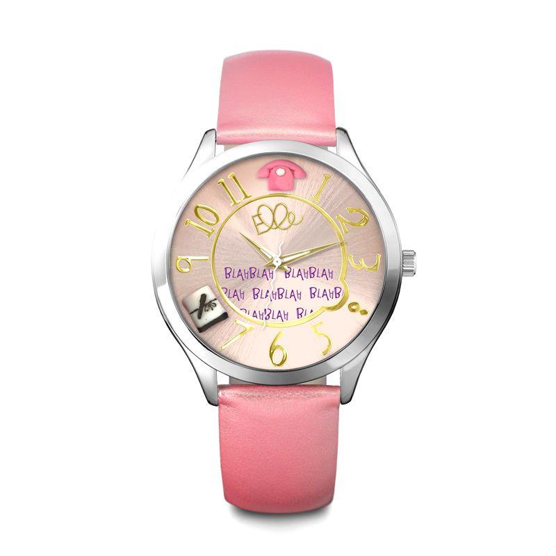 Elle Girl GW40121S02X Salmon Pink Jam Tangan Wanita