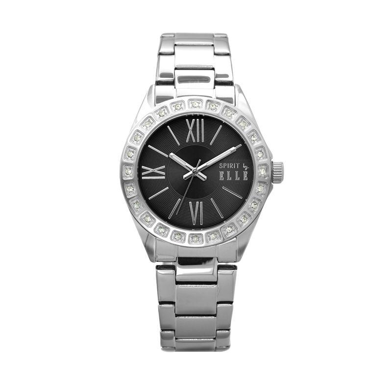 Elle Spirit ES20043B04X Silver Stainless Bracelet Jam Tangan Wanita