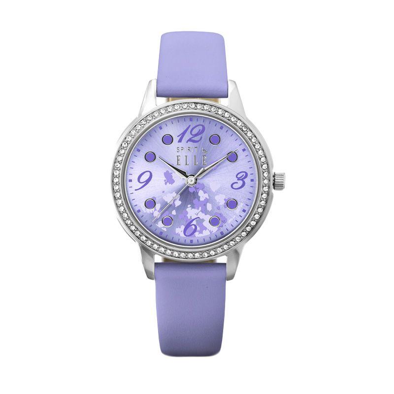 Elle Spirit ES20044S08X Purple Jam Tangan Wanita