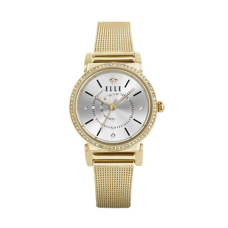 Elle Time EL20311B04C Bracelet Gold Jam Tangan Wanita