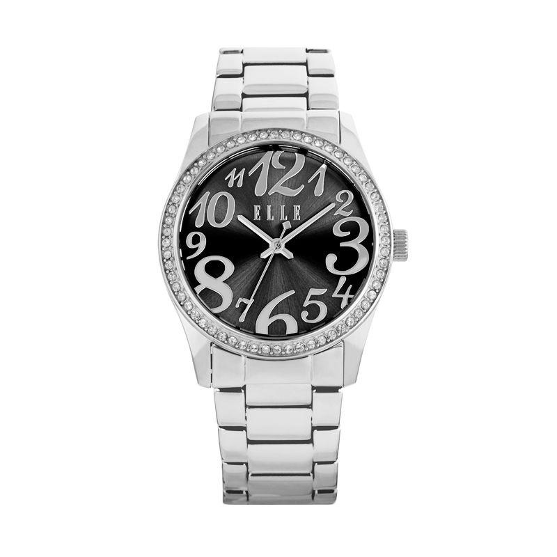 Elle Time EL20312B01C Stainless Bracelet Silver Jam Tangan Wanita