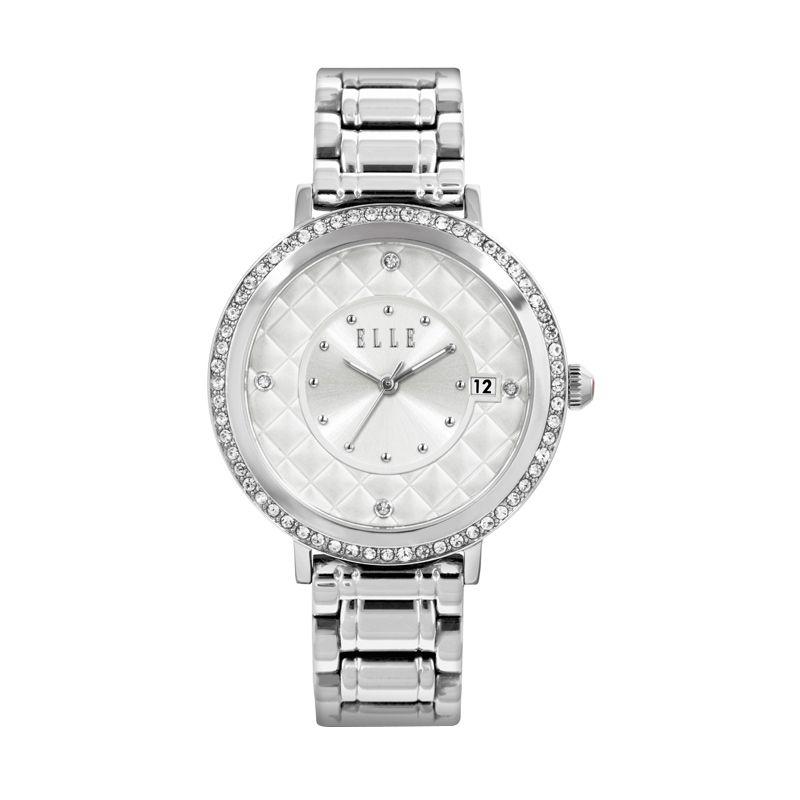 Elle Time EL20315B01N Stainless Bracelet Silver Jam Tangan Wanita