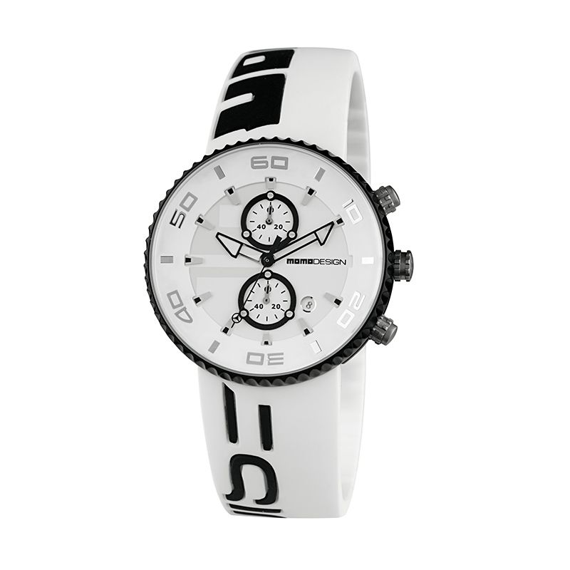 Momo Design MD4187AL-11 White Black Jam Tangan Pria