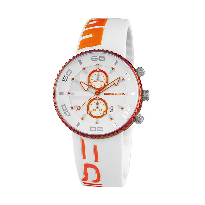 Momo Design MD4187AL-31 White Orange Jam Tangan Pria
