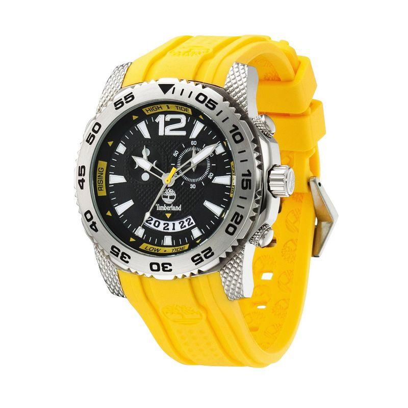 Timberland Hydroclimb Rubber TBL13319JS Yellow Jam Tangan Pria
