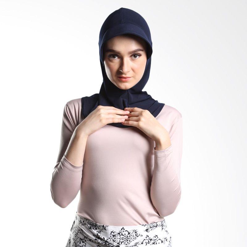 Tiras Shaima Inner Navy Blue Hijab