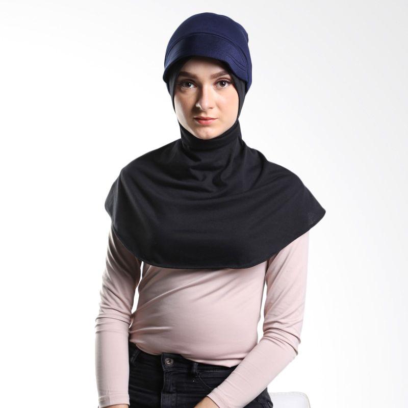 Tiras Sharia Ciput Navy Blue Hijab