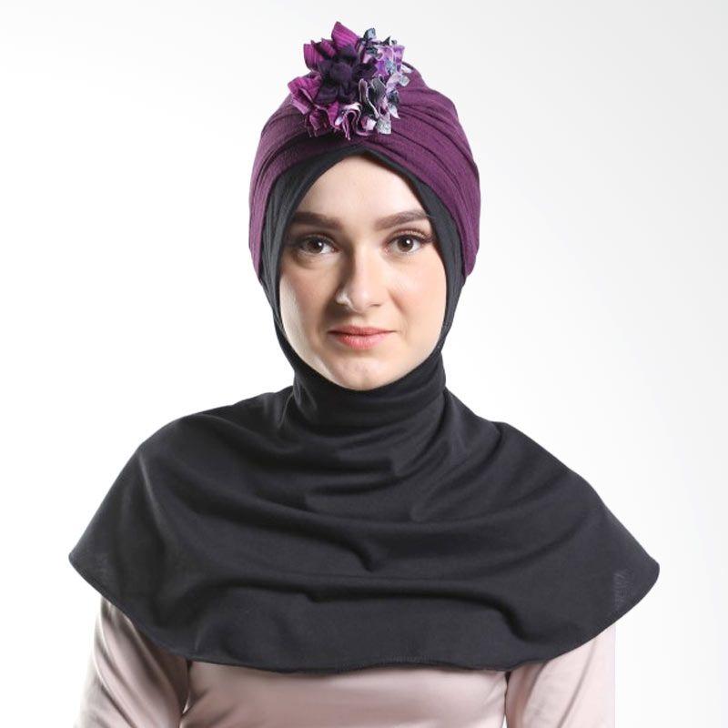 Tiras Turban Jenia Dark Purple Hijab