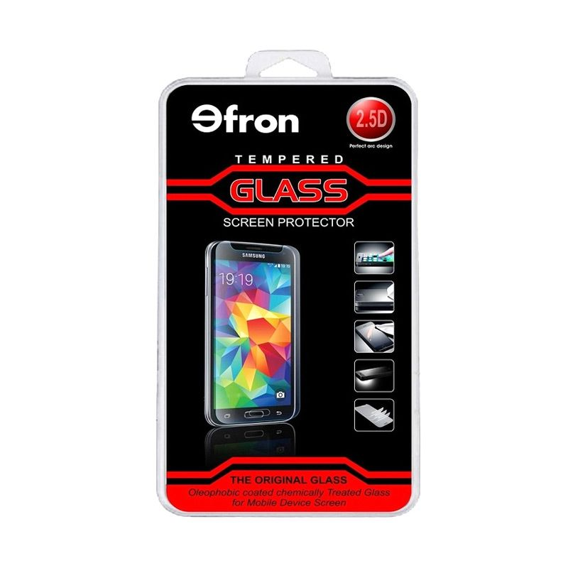 EFRON Glass Tempered Glass Screen Protector for MEIZU M2 [2.5D]