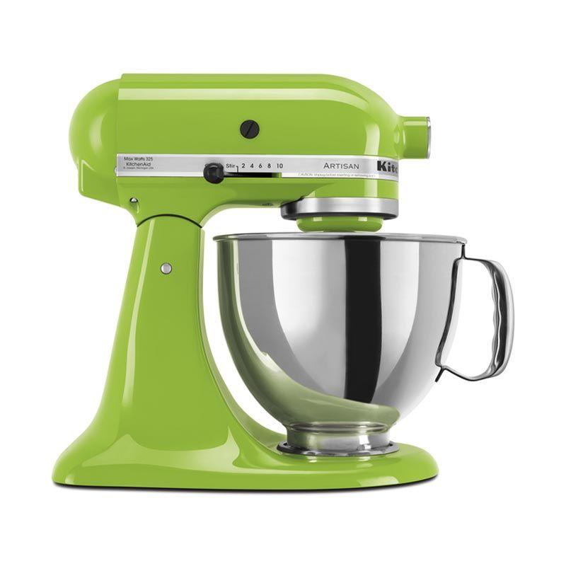 harga KitchenAid Artisan Series 5-Quart 5KSM150PSGA Green Apple Stand Mixer Blibli.com