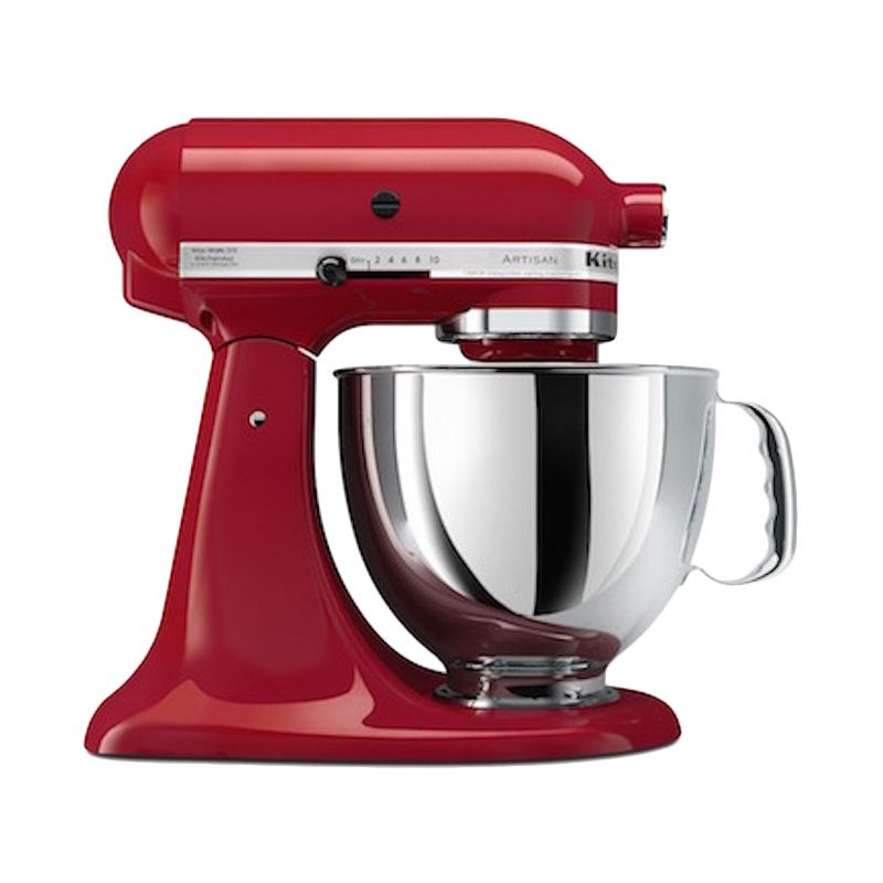 KitchenAid 5KSM150PSER Artisan Series 5-Quart Tilt-Head Empire Red Stand Mixer