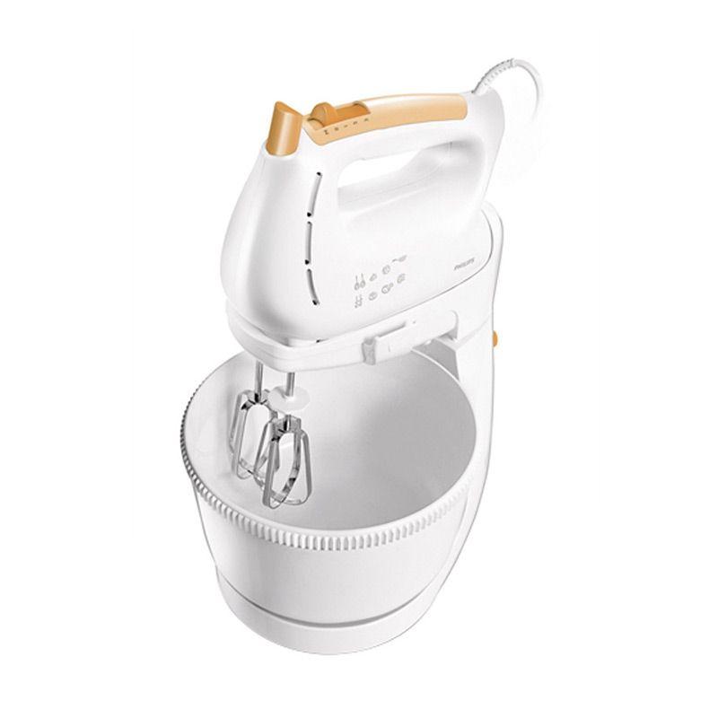 Philips HR1538 Putih Orange Stand Mixer
