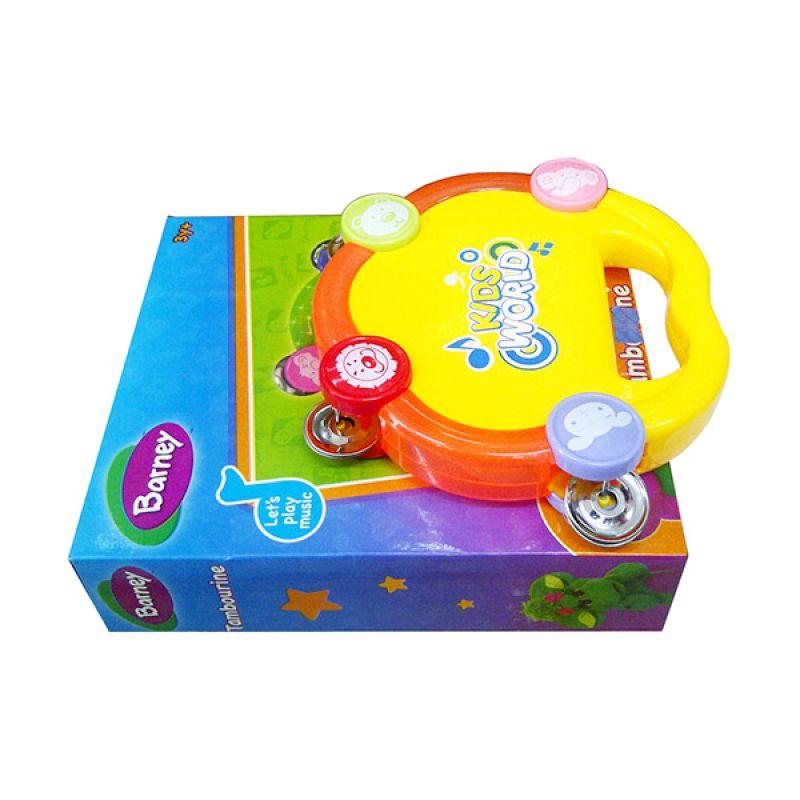 TMO Barney Tambourine 01335 Mainan Anak