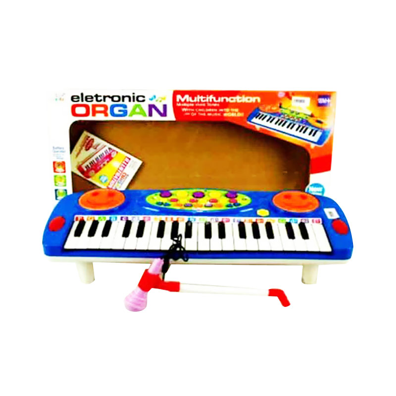 TMO Electronic Organ and Mic 3702A Mainan Anak