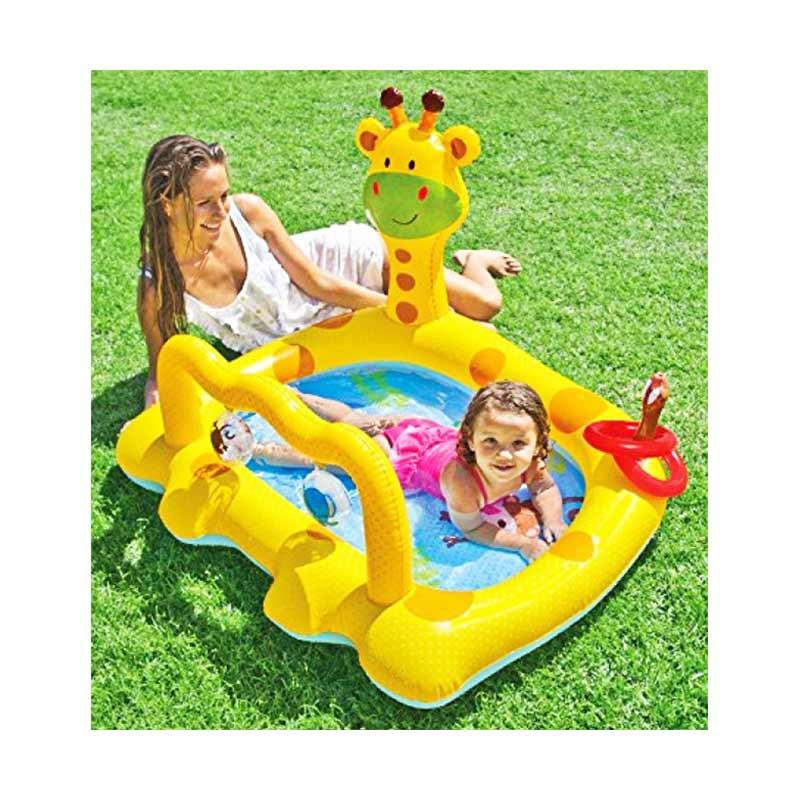 harga Tmo Intex Smiley Giraffe Babby Pool - 57105 Kolam Renang Anak Blibli.com