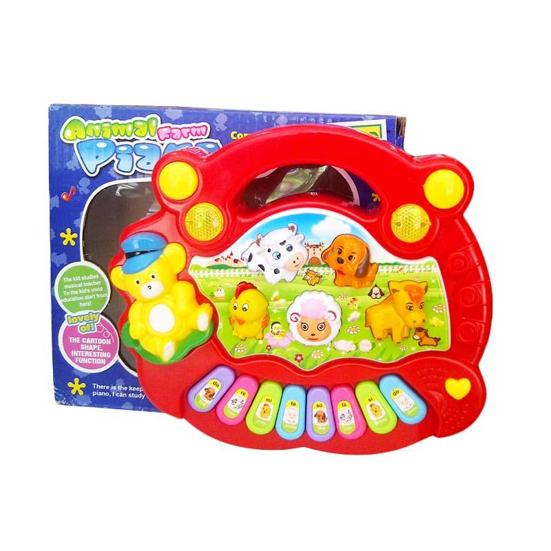 TMO Mini Animal Piano Mainan Anak
