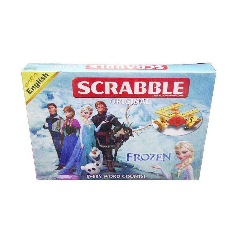 TMO Scrabble Frozen Mainan Anak