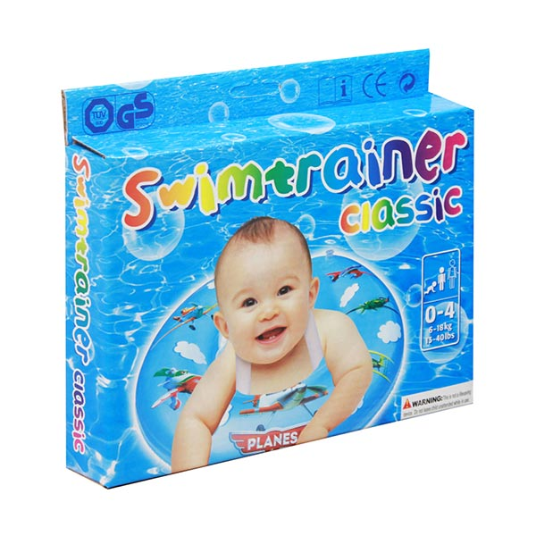 Chanel7 Swim Trainer Planes Blue Pelampung Bayi