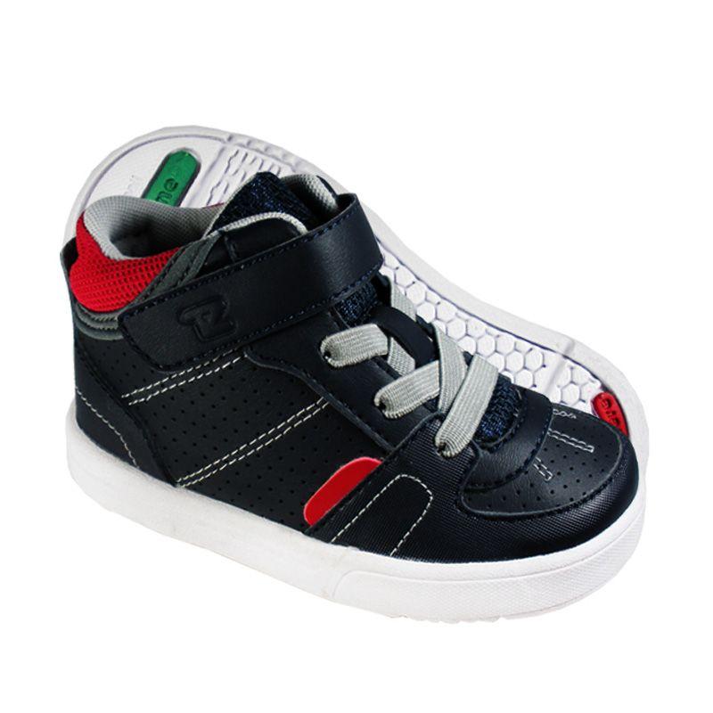 ToeZone Kids Bradley Navy Red Sepatu Anak