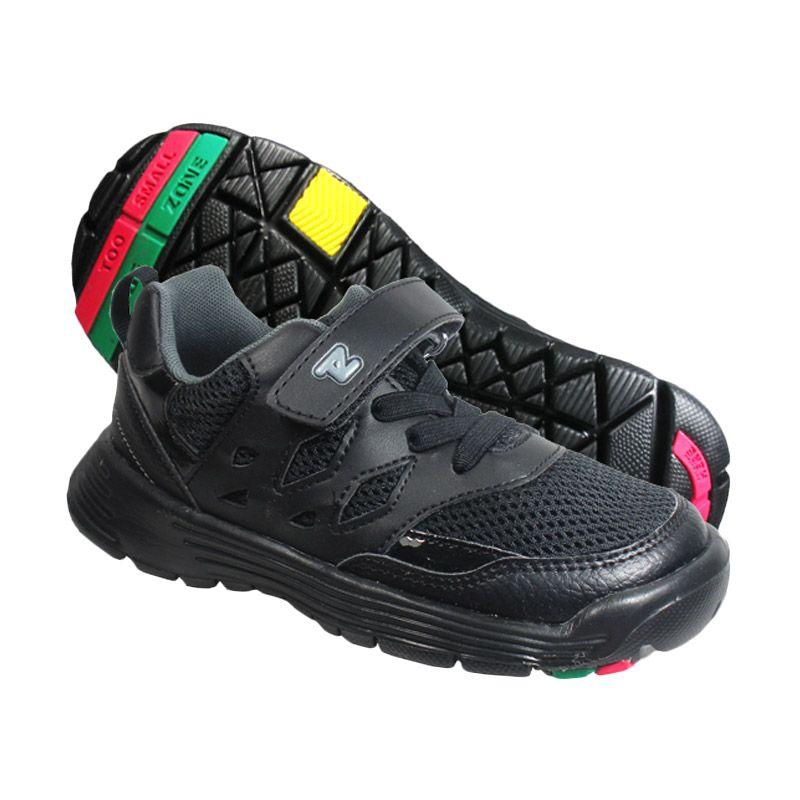 ToeZone Kids Brazil Kid Black Sepatu Anak Laki-Laki