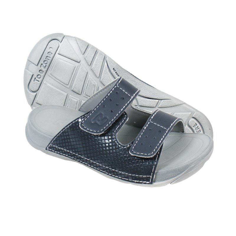 ToeZone Kids Nias Navy Grey Sandal Anak
