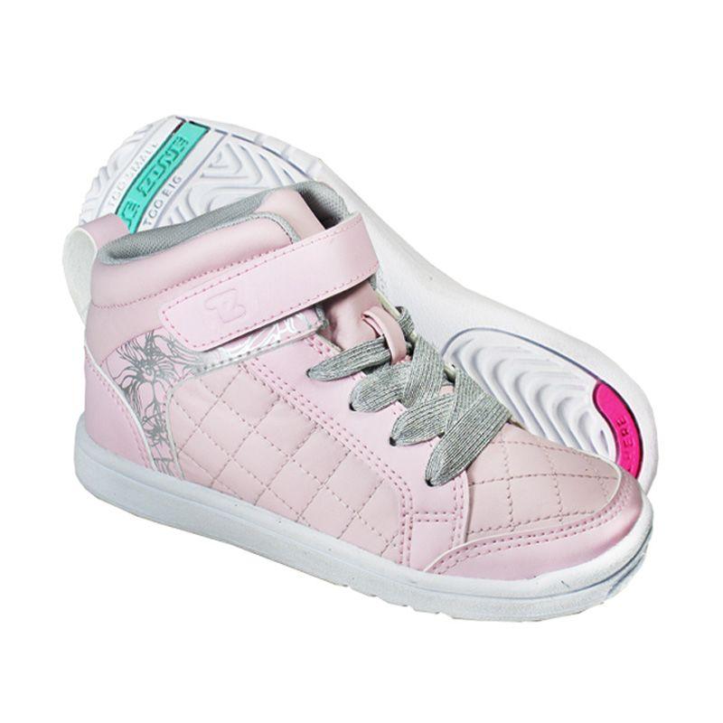 Toezone Kids Orville Pink Silver Sepatu Anak